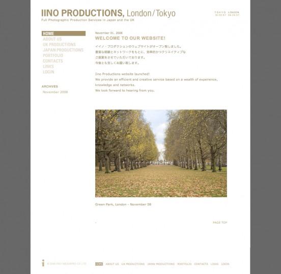 IINO PRODUCTIONS, London / Tokyo