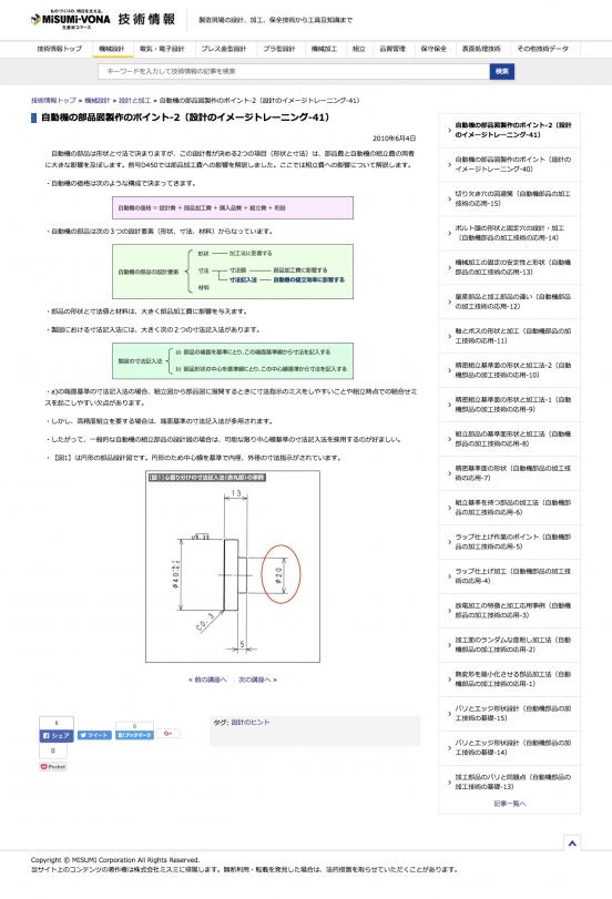 MISUMI 技術情報_1